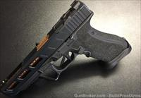 CUSTOM GLOCK 34 GEN 4 w/ custom Slide & Frame - Agency Trigger, Zev Barrel, Custom Frame Stipple