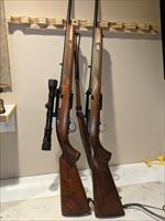 His and Hers matching Winchester Model 100 Semi-Auto Rifle, chambered in 308 WIN & 243 WIN