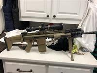 FNH SCAR 17S, 5x20x50, 13 mags, case & more