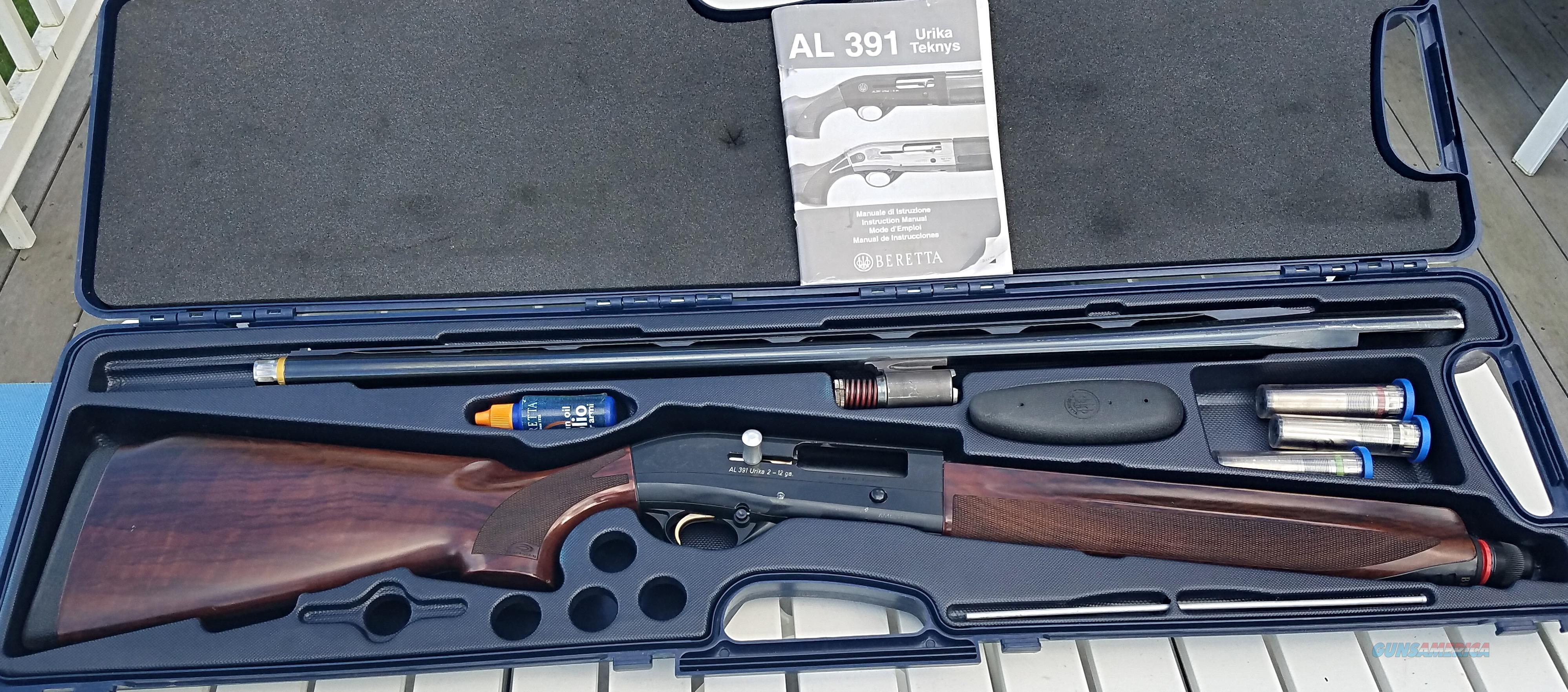 Beretta 391 Urika 2 Paralell Comb 12 ga