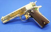 Colt 1911 .45 ACP Government Celtic Engraved