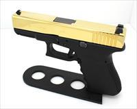 Glock 19 – 9mm – 24k Gold Plated