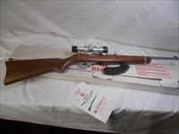 ruger 10/22stainless w/scope lightly used