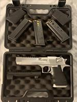Magnum Research Desert Eagle Mark XIX DE50BC NIB with 44 Magnum Barrel and 2 44 caliber magazine