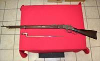 Winchester model 1873 Musket with bayonet