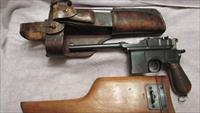 ERA Mauser Model 1896 Broomhandle Pistol In 7.63mm