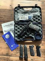 Beretta 92G-SD Rare & Hard to Find Limited Edition