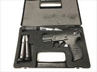 USED Walther P22 22LR w/3 Mags