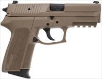 USED Sig Sauer Sp2022 40S&W FDE with Sig Night Sights