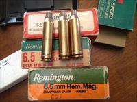 Remington 6.5 magnum brass