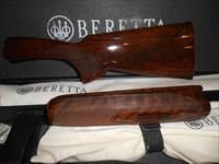 USED Beretta 682 Gold Stock & forearm with adjustable Comb
