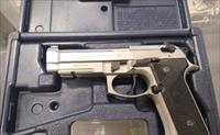 Rare & Clean Beretta 92FS Vertec Stainless 9mm Excellent Condition.