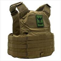 Shellback Tactical shield coyote carrier