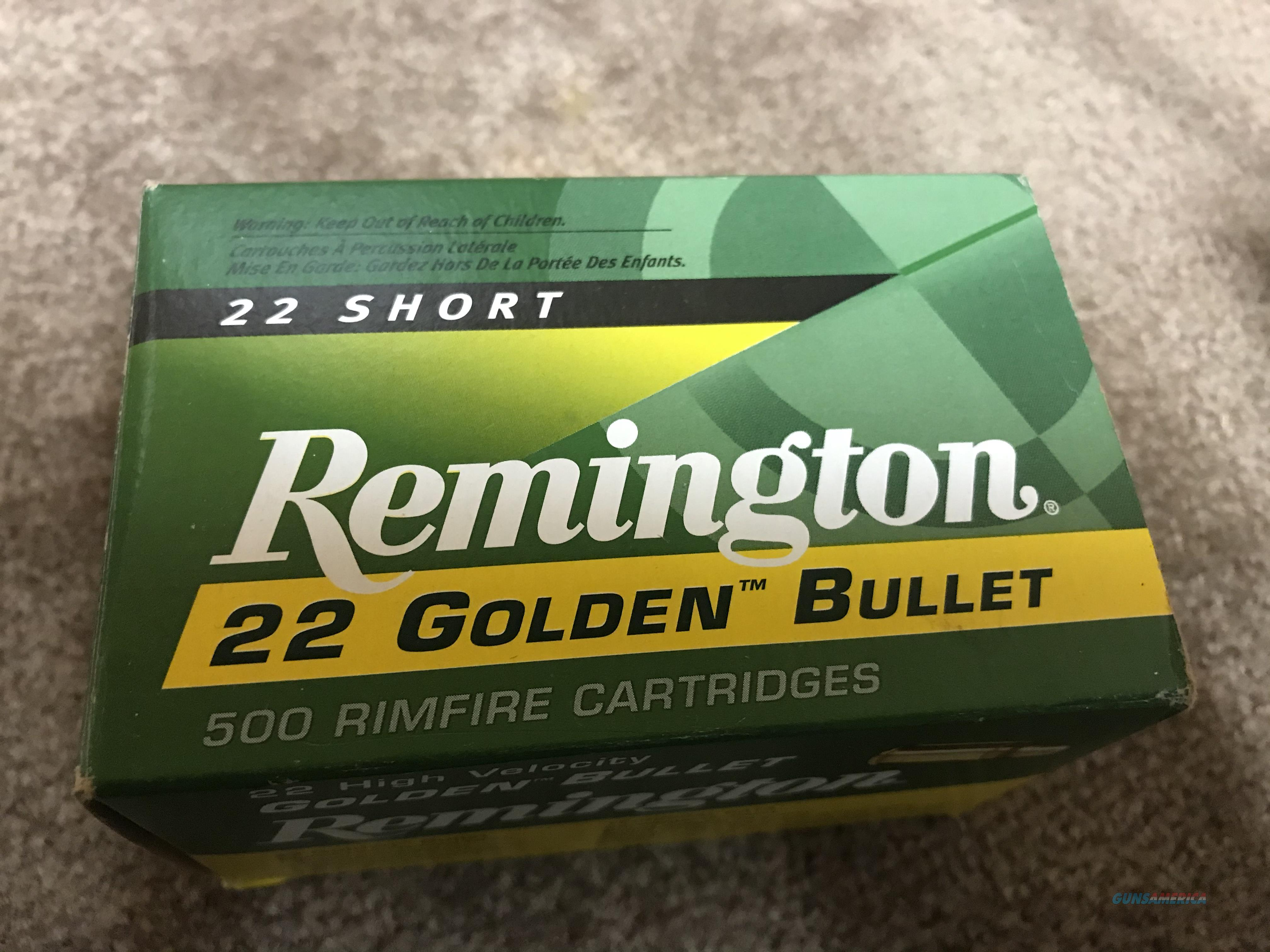 .22 Remington Golden Bullets 22 Shorts