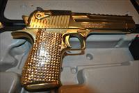 DESERT EAGLE MAGNUM RESEARCH MARK XIX 50 CAL GOLD