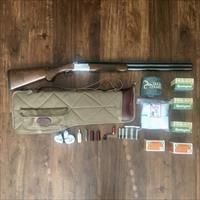 "Ruger Red Label O/U, 12 ga, 28"" barrel with Boyt Harness Take-Down Case, full set of Ruger Chokes, & accessories"