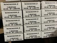 Winchester 7.62x51mm NATO 135 Grain Sierra Hollow Points 20rds