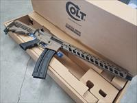 Colt M4 Carbine .22lr - Cerakoted in Magpul FDE + Fortis REV Rail