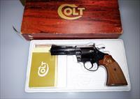 "Colt Diamondback 4"" Barrel .38 Special - Blue Finish - Checkered Walnut Grips - NIB"