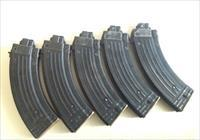 5 AK 47 22 LR East German Steel Magazines or wasr 22 conversion