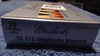 Weatherby .30 - .378 Weatherby Magnum Unprimed Cartridges