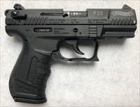 "Walther P22 Semi-Auto Pistol 22 LR, 3.4"", Polymer Grip, Black Finish, 10 Rd - Hard to Find NIB"