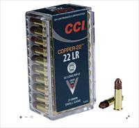5,000 rd. CCI-22 lr HYPER VELOCITY (1850 fps) 21gr. FREE SHIPPING