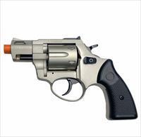 """Zoraki R2 2"""" Barrel - Front Firing Blank Gun Revolver Satin Finish"""