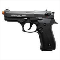 Compact V92F Front Firing Blank Gun Black Finish