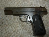 Colt Model 1903 Type II Pocket Hammerless made 1910