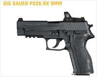 SIG P226 9mm with Romeo1 Red Dot Optical 15+1 rd mags x2