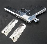 BONUS ITEM INCLUDED! NIB! HIGH MIRROR POLISHED SPRINGFIELD 1911 MIL-SPEC .45ACP PB9151L