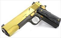 SK Customs Graphite Grey/Gold Plated, High Polished. Springfield 1911.45acp