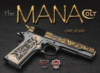 SK Customs The MANA Limited-Edition # 097 of 200 Colt 1911 .38 super
