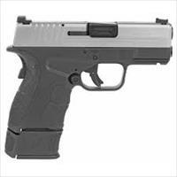 Springfield XD-S Mod.2 9mm 9+1 and 7+1 Extended Mag with Fiber Optic Front Sights XDSG9339S