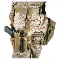 Serpa Tactical Level 2 Holster Coyote Tan (USMC Medallion) Right Hand Beretta 92/96/m9 Std Or A1 W/rails (not Brig/elite)