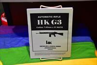 HK G3 AUTOMATIC RIFLE CALIBER 7.62mm X 51 SEMI-AUTO MAN.