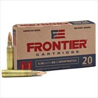 Frontier 500 Rounds 5.56 NATO 68GR BTHP HORNADY BULLETS FAST SHIPPING