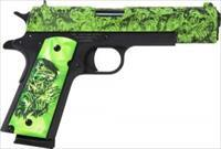 "IVER JOHNSON 1911A1 .45ACP 5"" FS 8RD ZOMBIE EDITION FASST SHIPPING!!!"