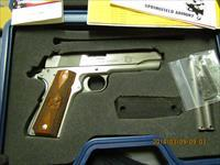 Springfield Armory 1911A1 Stainless, Cocobolo Grips w/2 mags +