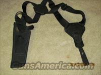 Uncle Mike's Sidekick Verticle Shoulder Holster Verticle Size 0  Right hand Double Action Revolver 2-3