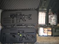 Diamondback Rifle and ATI Pistol AR15's with over 3500 rounds of ammo