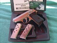 Walther PPK, 380 Stainless wth 3 mags/holster