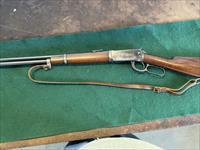 1924 Winchester mdl 94 lever action saddle gun 30 W.C.F.