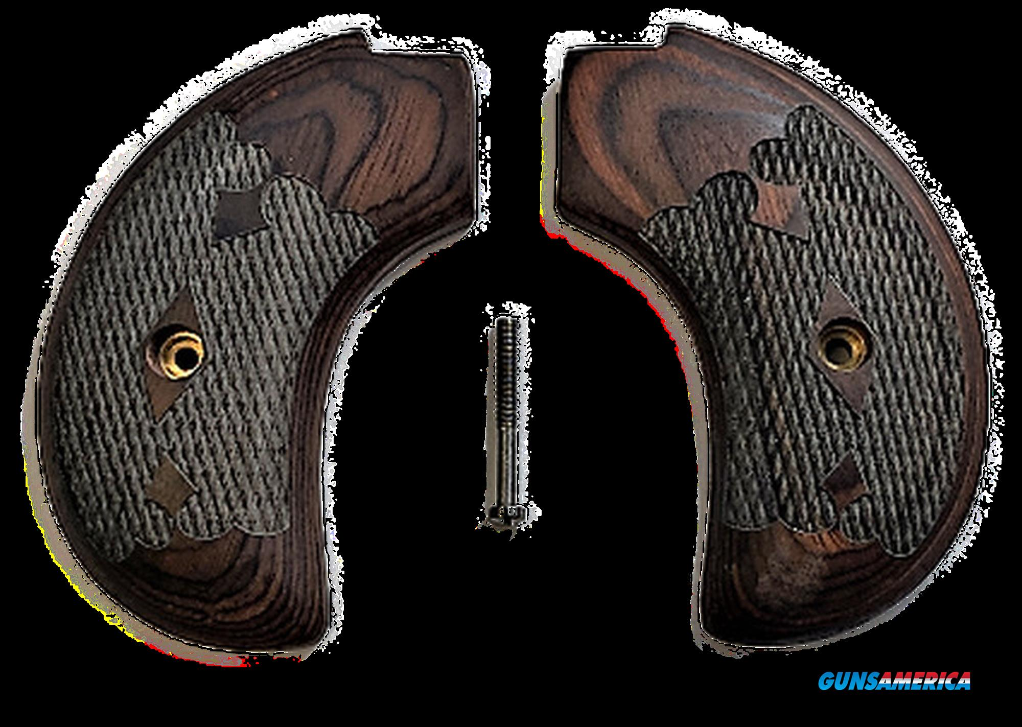 Premium Rosewood Bird's Head Version Heritage Arms Rough Rider 6 & 9 Shot Grips (.22 &.22 Mag)