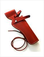 Premium Heritage Arms Rough Rider .22 & .22 Mag Revolver Reddish Brown Saddle Leather Holster