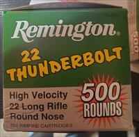 Remington Thunderbolt. 22LR 1000 rds