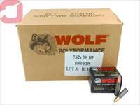 7.62x39 Hollow Point 123 Grain Wolf Polyformance Ammo - 1000 Rounds