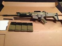 SCAR 17S FDE with Surefire Flash Hider/Suppressor Mount and 4 Magazines
