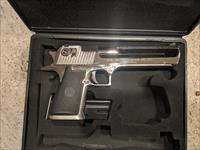 Nickel Plated 50 Caliber Desert Eagle